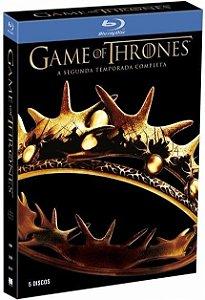 Box Blu Ray Game Of Thrones 2 ° Temporada Completa 5 Discos