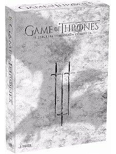 Box Blu Ray Game Of Thrones  3 ° Temporada Completa 5 Discos