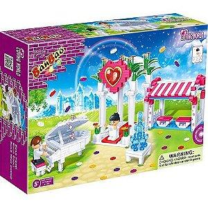Brinquedo Blocos De Montar Banbao Coreto Encantado 6106