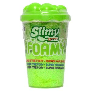 Massinha Slimy Foamy Unitaria com Cor Surpresa Toyng 39973