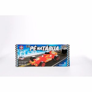 Brinquedo Pé Na Tábua Ferrari Original Estrela