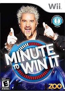 Jogo Para Nintendo Wii Minute To Win It Lacrado E Original