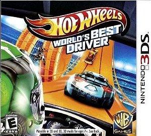 Jogo Novo Hot Wheels: Worlds Best Driver Para Nintendo 3ds
