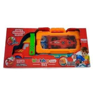 Brinquedo Workshop Junior Truck 2 em 1 da MultiKids BR781