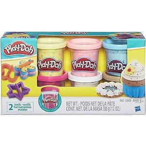 Play Doh Massinha Confete com Cores Sortidas da Hasbro B3423