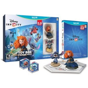 Jogo Disney Infinity Toy Box Starter Pack 2.0 Edition Wii U