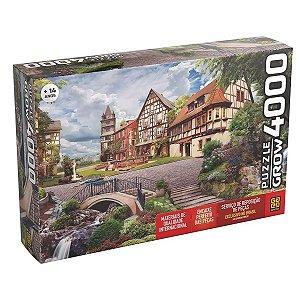 Quebra Cabeças Puzzle Grow 4000 peças Vila Europeia - 03919