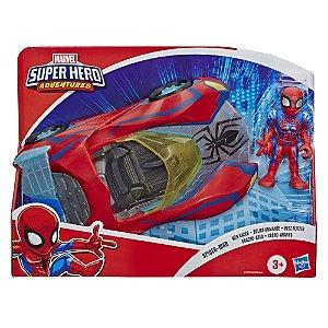 Veiculo Marvel Homem Aranha e Carro Aranha da Hasbro E6223