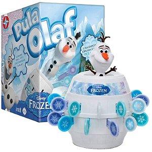 Jogo de Mesa Infantil Estrela Disney Frozen Pula olaf - 6363