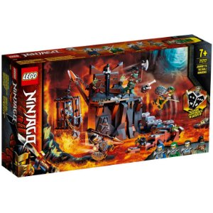 Lego Ninjago A Viagem Ate as Masmorras das Caveiras 71717