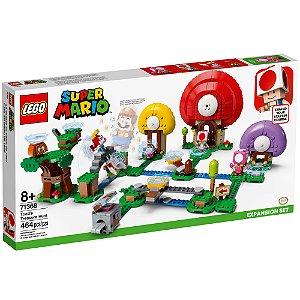 Lego Super Mario Expansao A Caça ao Tesouro de Toad 71368