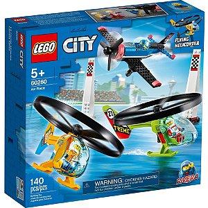 Lego City Veiculo Aviao Corrida Aerea com 140 Peças 60260