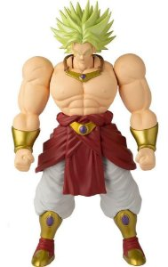 Boneco Articulado Dragon Ball Super Broly 33cm Fun Divirta
