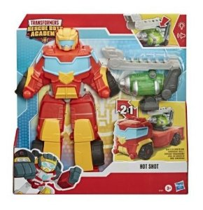Novo Transformers Rescue Bots Resgate Hot Shot Hasbro E7591