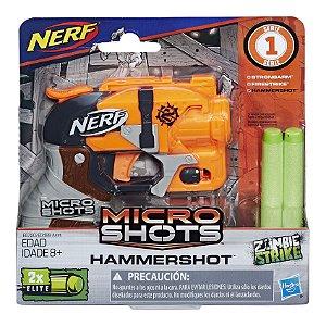 Nerf Zombie Strike Micro Shots Hammershot da Hasbro E0489