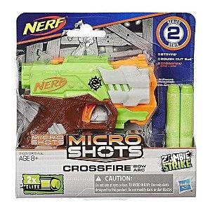 Nerf Zombie Strike Micro Shots Crossfire Arco Hasbro E0489