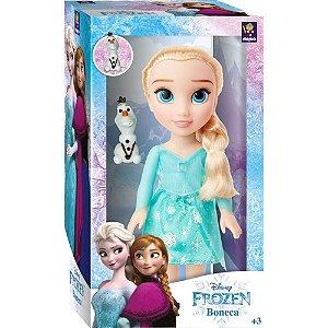 Boneca Disney Frozen 2 Elsa Passeio com Olaf da Mimo 6487