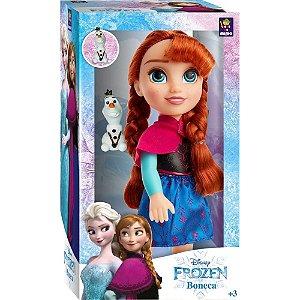 Boneca Disney Frozen 2 Anna Passeio com Olaf da Mimo 6488
