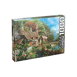 Grow Puzzle Quebra-cabecas 1000 pecas Casa no Lago - 02963