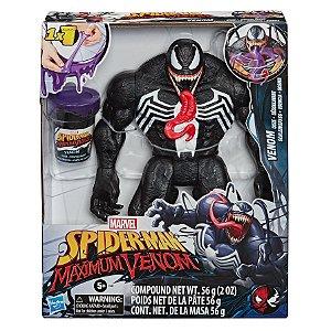 Figura Marvel Spider Man Maximum Venom com Slime Gosma E9001