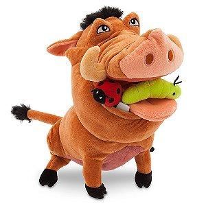 Brinquedo Pelucia Infantil Disney Pumba 35 cm da Fun F00219