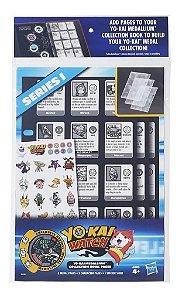 Paginas Extras Livro Coleção De Medalhas Yo-kai Watch B6046