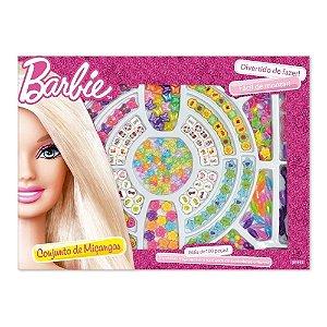 Brinquedo Barbie Kit de Miçangas com 100 Peças da Fun F00152