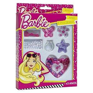 Brinquedo Barbie Kit Fashion de Anel e Pulseiras Fun F00154