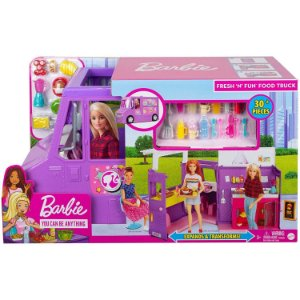 Barbie Veiculo Playset Food Truck Fresh n Fun Mattel Gmw07