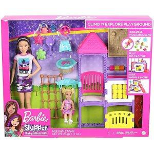 Barbie Skipper Babysitter Playset Dia no Parque Mattel Ghv89