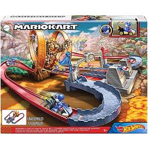 Hot Wheels Mario Kart Pista Castelo do Caos da Mattel Gnm22