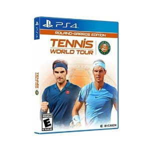 Jogo Mídia Física Tennis World Tour RolandGarros Edition PS4