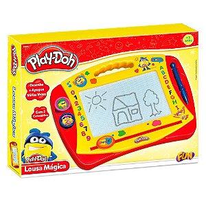 Brinquedo Play Doh Lousa Magica Desenhe e Apague Fun F00007