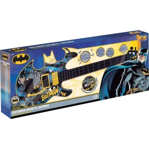 Brinquedo Guitarra Batman Cavaleiro das Trevas da Fun F00042