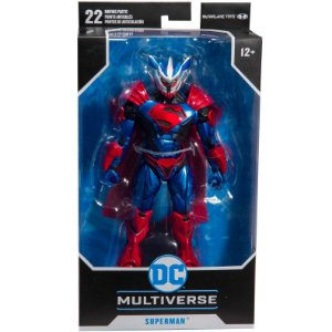 Figura DC Multiverse Superman Unchained Armadura Fun F00148