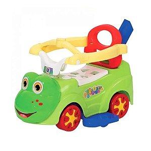 Brinquedo Triciclo Andador Ra Baby Menino da Mercotoys 900