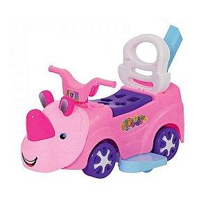 Brinquedo Triciclo Andador Rino Baby Menina da Mercotoys 903