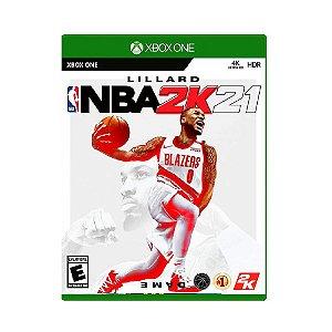 Jogo Mídia Física Lillard NBA 2K21 Lacrado e Novo - Xone