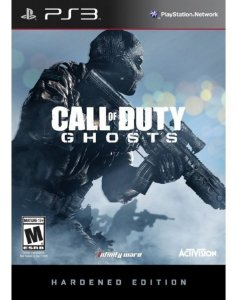 Box Novo Call Of Duty Ghosts Hardened Edition Playstation 3