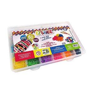 I9 Brinquedos - Euqfiz Ez Bandz - 1200 Elásticos - bri0018