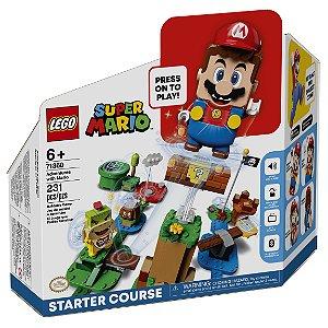 Lego Super Mario Fase 1 Aventuras do Mario 231 Peças 71360