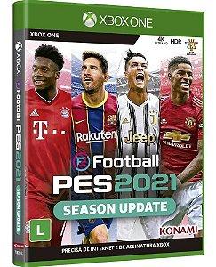 Jogo Pes 21 Efootball Pro Evolution Soccer Xbox One Lacrado