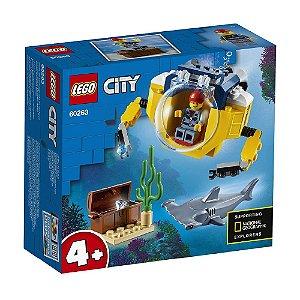 Lego City - Mini-Submarino Oceânico - 41 peças - 60263