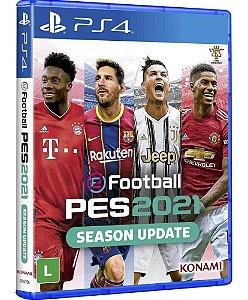 Jogo Pes 21 Efootball Pro Evolution Soccer 2021 Ps4 Lacrado