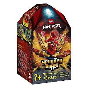 Lego Ninjago - Rajada de Spinjitzu Kai - 48 peças - 70686