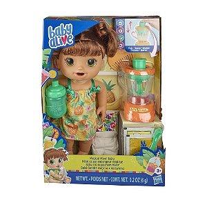Hasbro Baby Alive - Bebê Misturinha Magical Morena - E6944