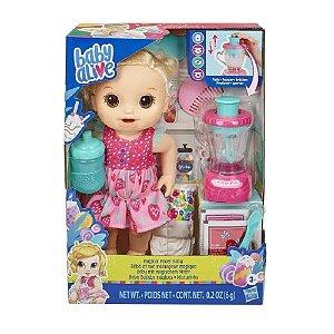 Hasbro Baby Alive - Bebê Misturinha Magical Loira - E6943