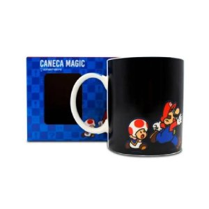 Zonacriativa Caneca Magic Super Mario - 300ml - 10023586