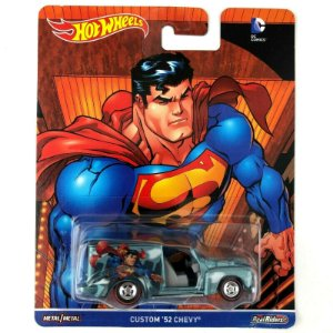 Hot Wheels DC Comics Superman Custom 52 Chevy Mattel Dlb45