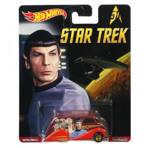 Hot Wheels Star Trek Real Riders Deco Delivery Mattel Dlb45